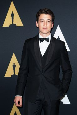 Miles Teller's perfectly attractive face.