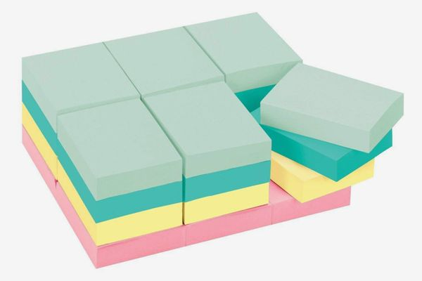 Post-it Notes Original Pads in Marseille Colors (Pack of 24)