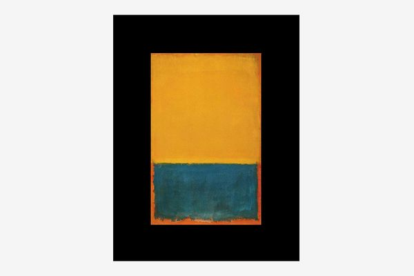Mark Rothko – Yellow and Blue on Orange