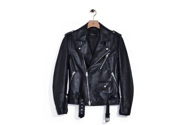 Ryan Gosling's leather jacket is 3.1 Phillip Lim.