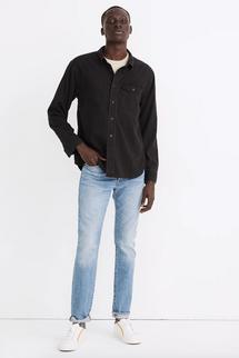 Madewell Men's Slim Authentic Flex Selvedge Jeans in Gosbrook Wash