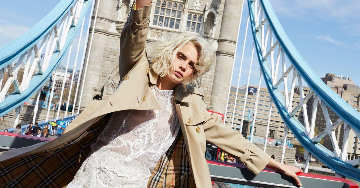 Cara Delevingne Burberry Fragrance Ad Her Celebrates London