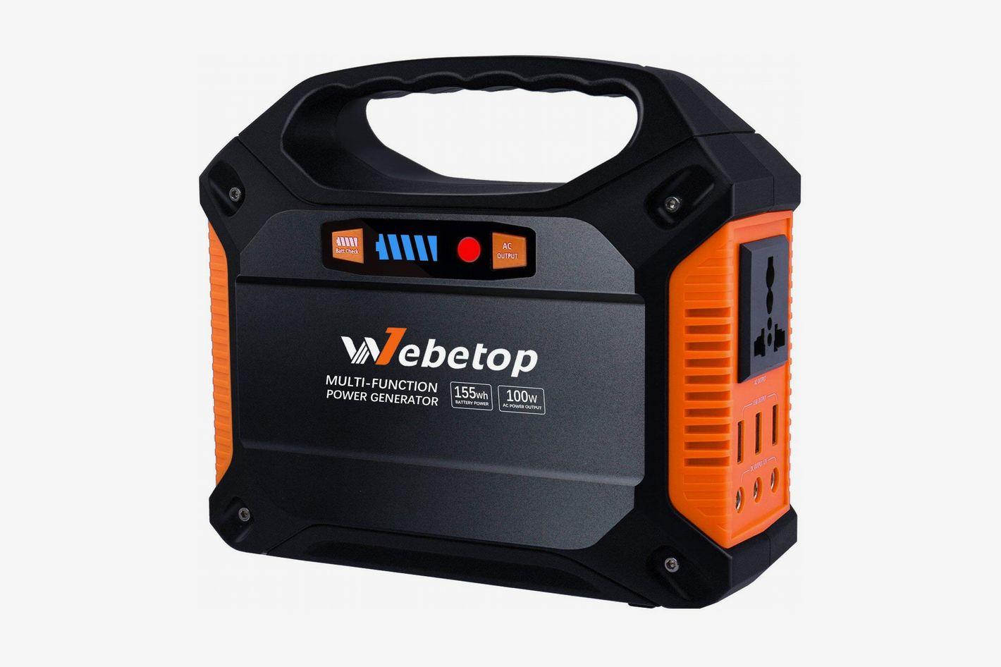 Webetop 155Wh Portable Generator