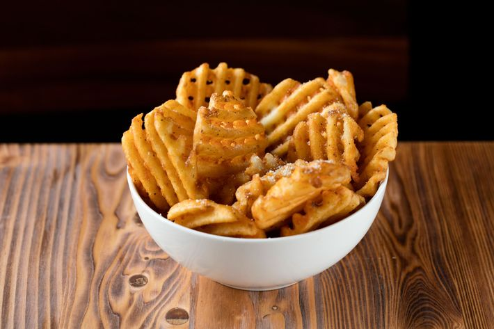Naked waffle fries become ...