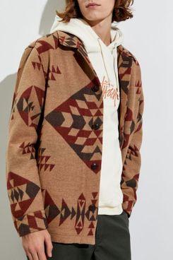 Pendleton Basket Maker Wool Button Jacket