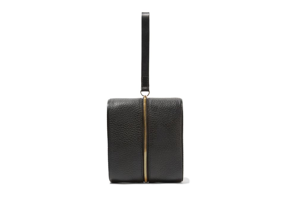 Building Block Doppler Medium Textured-Leather Clutch