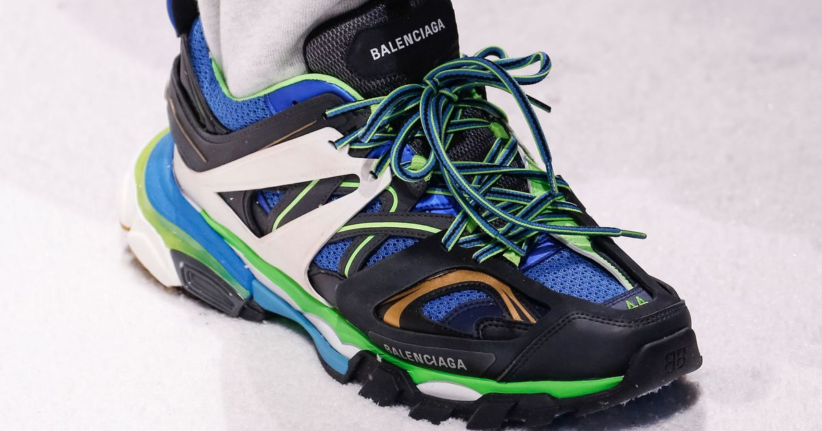 a9c60bb15325 Balenciaga Dropping TRACK Sneakers September 24