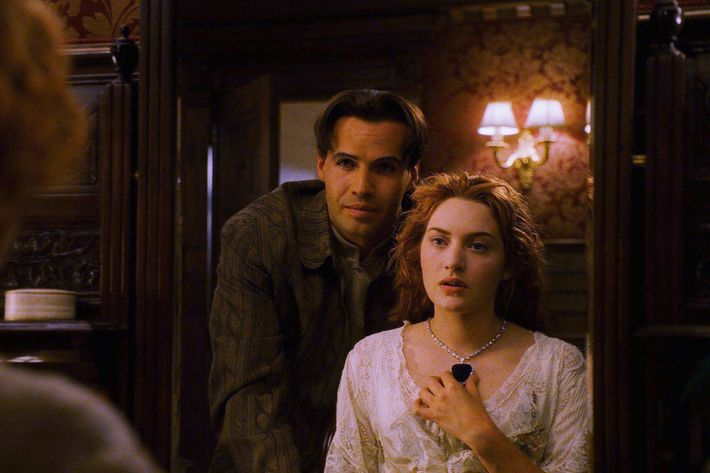 Kate Winslet playing a wife-to-be in <em>Titanic</em>.