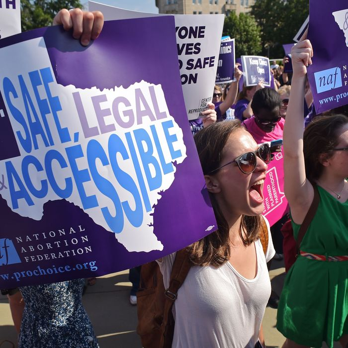 Chalk up a victory for abortion rights.
