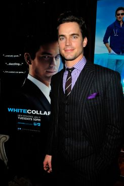 Matt Bomer==Matt Bomer and Mark Feuerstein host intimate dinner celebrating winter return of USA Network's hit series White Collar and Royal Pains==The Lion N.Y.C.==Jan 17, 2012==? Patrick McMullan==Photo - CHANCE YEH/PatrickMcMullan.com====