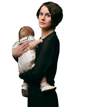 Michelle Dockery plays Lady Mary.