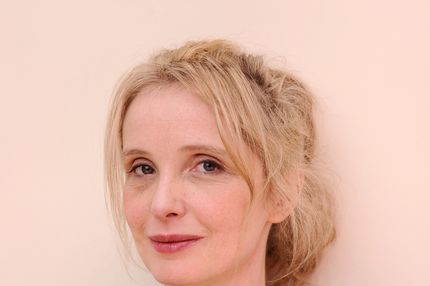 Actress/director/writer Julie Delpy poses for a portrait during the 2012 Sundance Film Festival at the Getty Images Portrait Studio at T-Mobile Village at the Lift on January 24, 2012 in Park City, Utah.