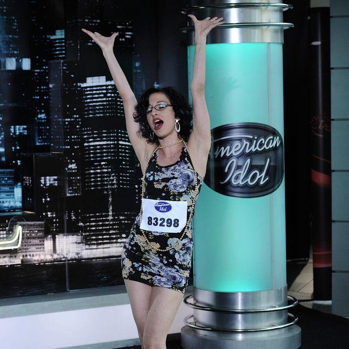 AMERICAN IDOL: Aspen contestant Angie Zeiderman on AMERICAN IDOL airing Wednesday, Jan. 25 (8:00-9:00 PM ET/PT) on FOX. CR: Michael Becker / FOX.