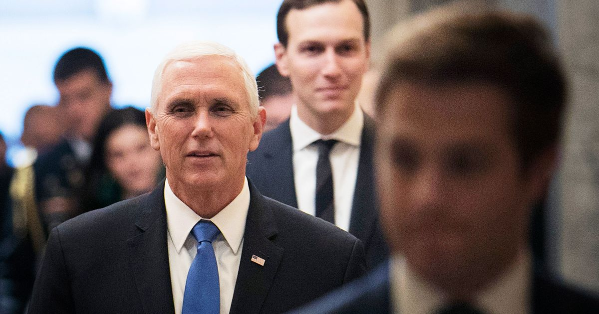 Pence Is the Enforcer of Trump's Compact With the Christian Right