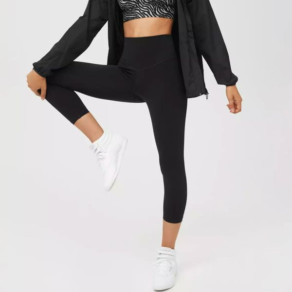 Aerie Offline Real Me High Waisted Cropped Legging