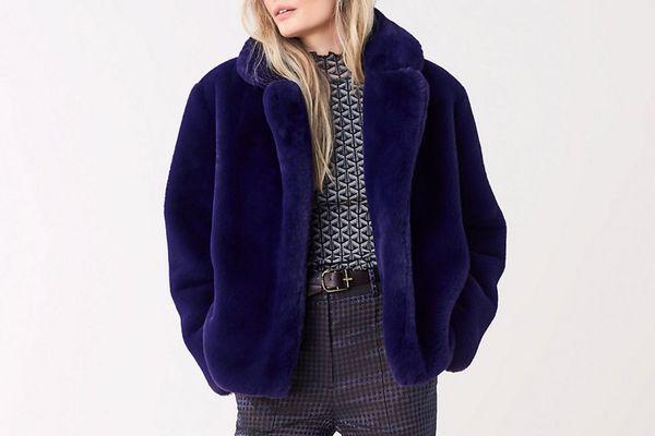 Paulette Faux-Fur Coat