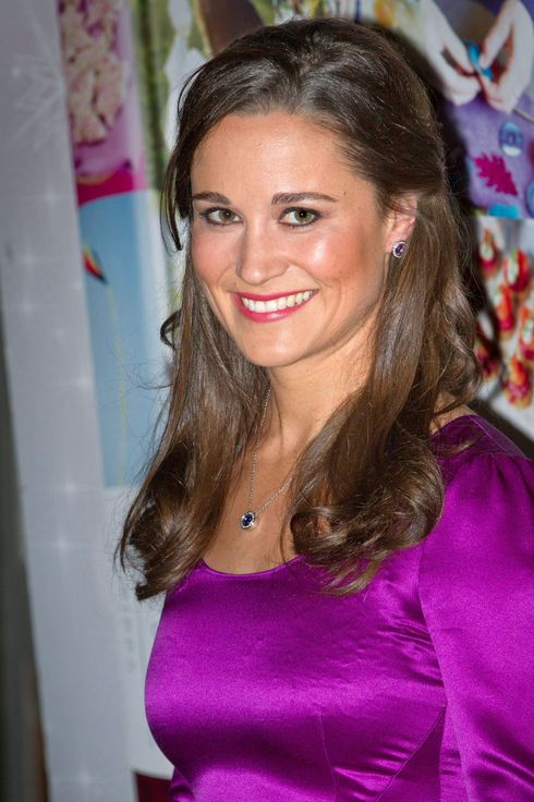 11 Dec 2012, Haarlem, Netherlands --- Pippa Middleton promotes her book Celebrate at bookstore De Vries in Haarlem, The Netherlands, 11 December 2012.