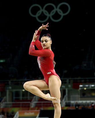 Laurie Hernandez.