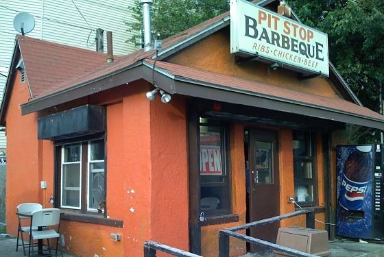 "<a href=""http://www.thepitbbq.net/"">Pit Stop Barbeque</a><br> <i>888A Morton St.; 617-436-0485</i><br> Dorchester's Pit Stop — and this Dickensian little shanty really does resemble a pit stop — has been family-run since 1985. Co-owner Derek Fowler, whose family took over from the original owners in 2007, attributes the success to a spectacular dedication to pork-rib prep. ""We make sure the ribs are nice and tender when they come off the [charcoal] pit; it's really exceptional, because we truly take the time,"" he says. Fowler also prides himself on a signature barbecue sauce: ""It starts off sweet and tangy, but there's a little kick at the end."" Adventurers should note that it's only open Thursday through Saturday."