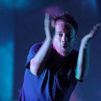 Thom Yorke of Radiohead (Photo by Jeff Kravitz/FilmMagic)