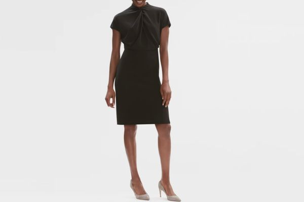 The Adelaide Dress—Stretch Twill