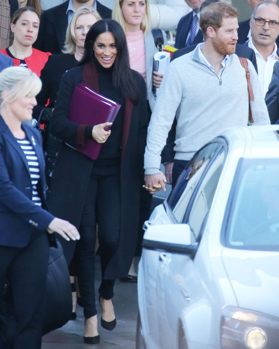 Meghan Markle and Prince Harry in Sydney.
