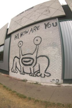 Style news 29 aug 2013 15 minute news know the news for Daniel johnston mural