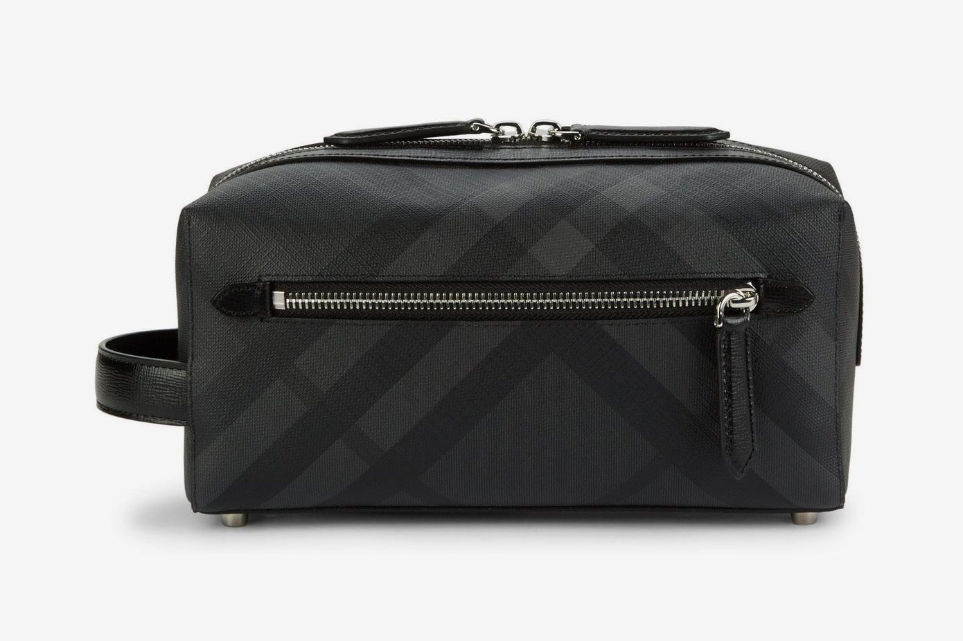 Burberry Check Dopp Kit At Saks Fifth Avenue Vetelli Leather Toiletry Bag