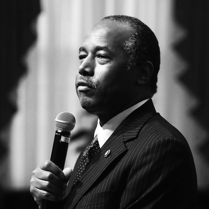 Department of Housing and Urban Development secretary Ben Carson.