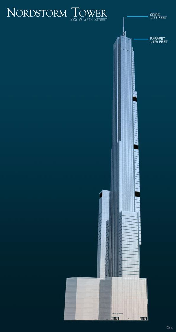 World S Tallest Residential To Stop At 1 775 Ft Nymag