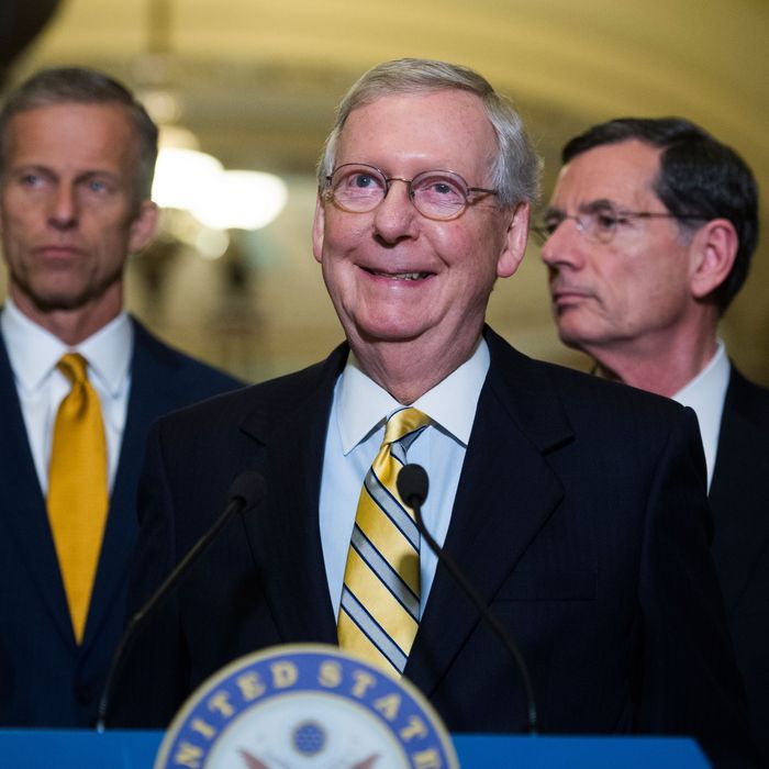 Mitch Mcconnell S Absurd Defense Of Secret Health Care Bill