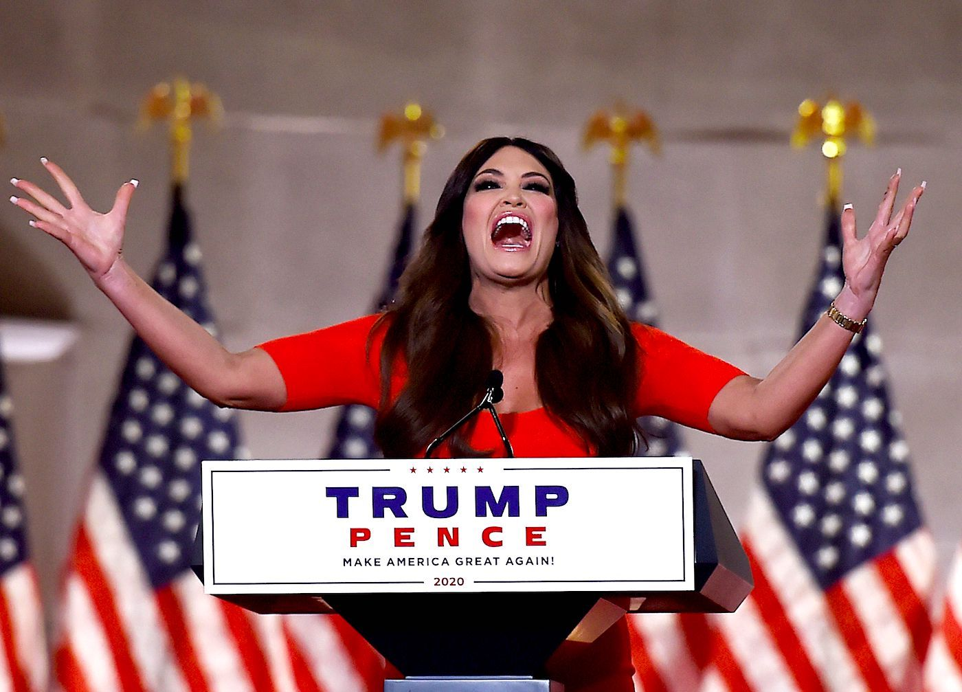 Kimberly Guilfoyle Yelled Her Entire Speech at the RNC