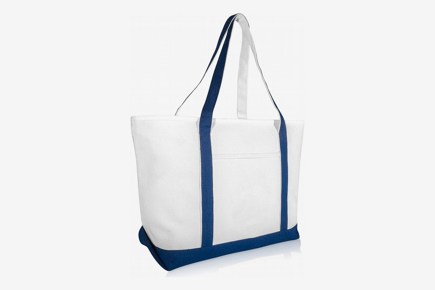 "DALIX 23"" Premium 24 oz. Cotton Canvas Shopping Tote"