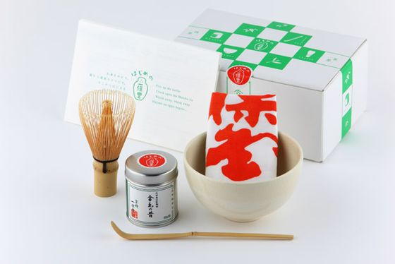 "Matcha, or powdered green Japanese tea, can't be prepared via a standard kettle or French press. This kit, which features specialized items such as a bamboo tea whisk and a handmade serving bowl, has everything needed for green-tea lovers interested in brewing it at home. <a href=""http://shop.ippodo-tea.co.jp/kyoto/shopf/goods/index.html?ggcd=651604&cid=giftsets&currency=1"">Ippodo Matcha Tea Brewing Starter Kit</a>, $48.57"