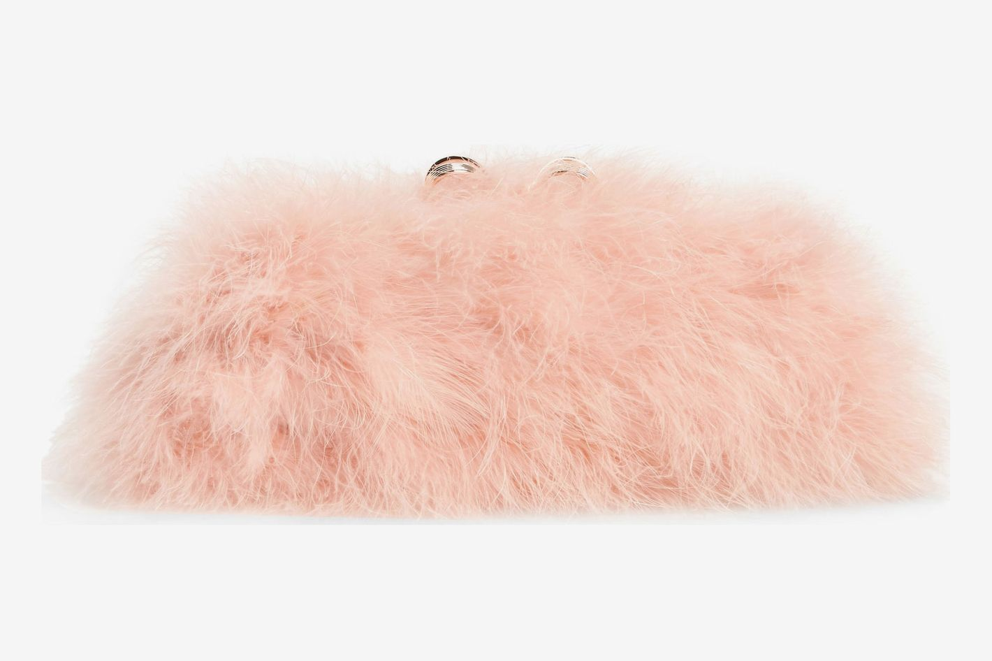 Ted Baker London Loop Bow Feather Evening Bag
