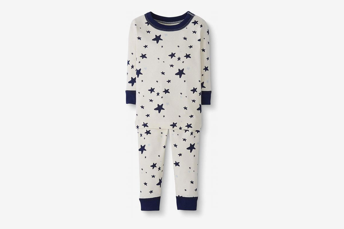 Hanna Andersson Baby//Toddler 2-Piece Organic Cotton Pajama Set