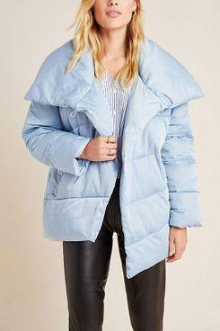 Oversized Wrap Puffer Jacket