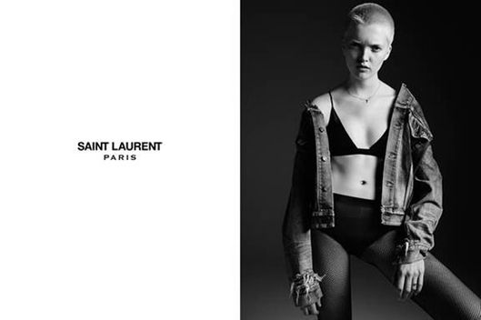 ysl website bags - Our New Model Obsession Fronts Saint Laurent Ads -- The Cut