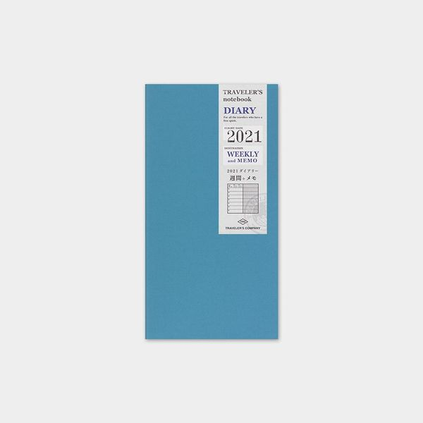 Traveler's Notebook 2021 A5 Slim Weekly Diary