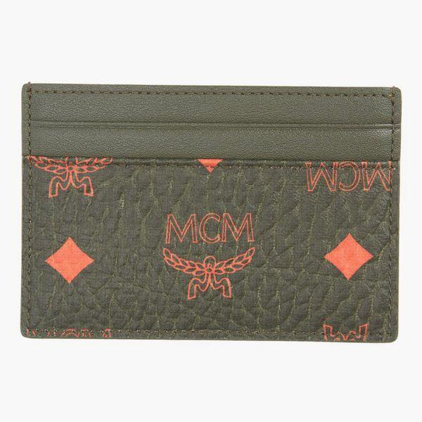 MCM Mini Visetos Card Case