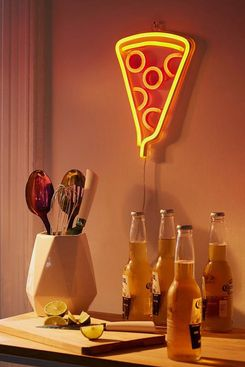 Urban Outfitters Pizza Neon Sign