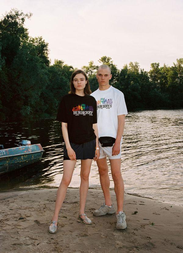 Reissued Skyline Cotton T-Shirt