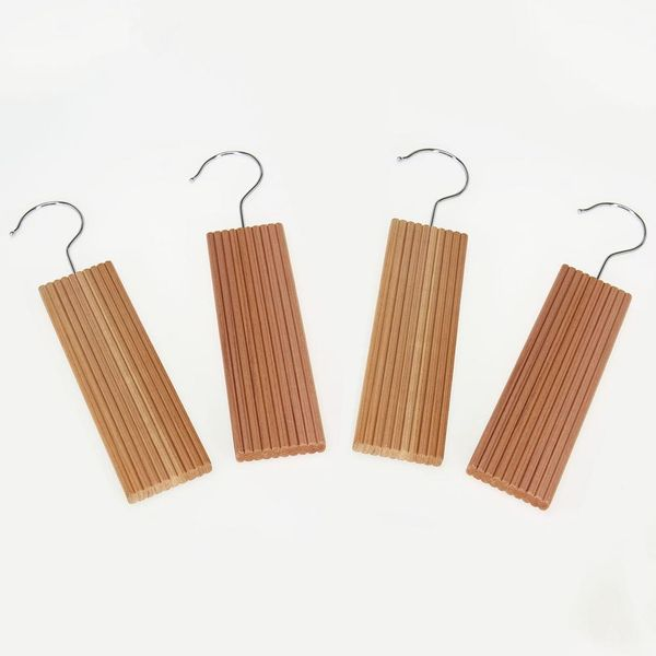 Natural Eastern Red Cedar With Lavender Closet Hangers with Hook