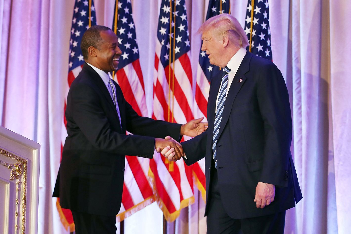 carson is trump's pick for hud, for some awful reason