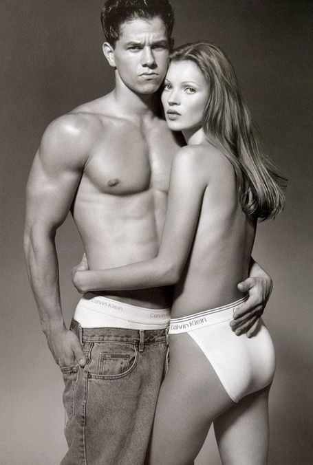 Photo 2 from Mark Wahlberg and Kate Moss, 1992