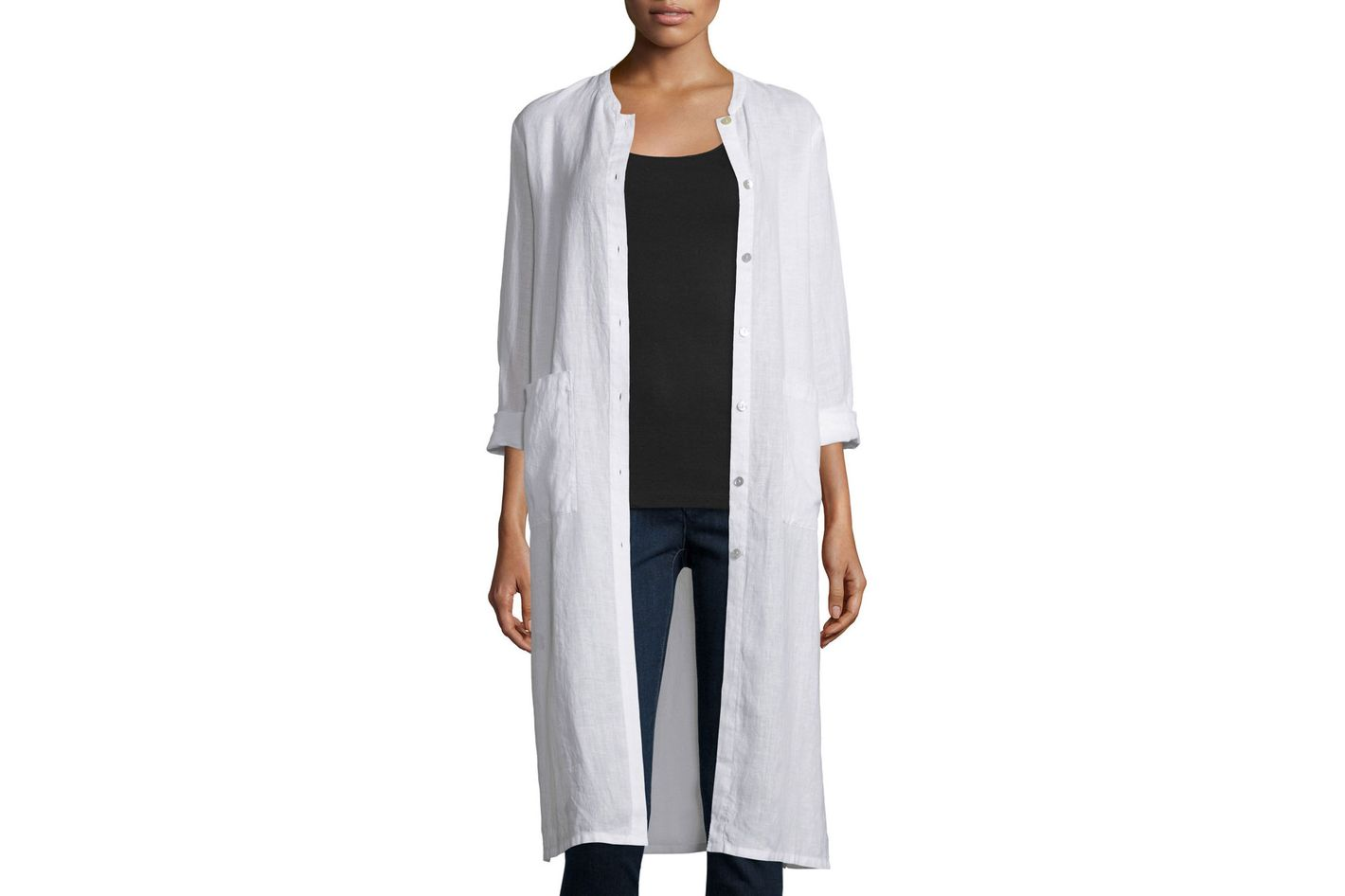 Eileen Fisher Organic Linen Jacket
