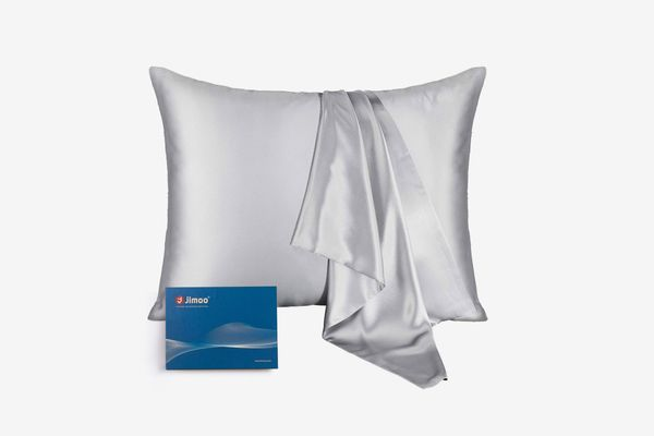 J JIMOO 100% Mulberry Silk Pillowcase for Hair and Skin,22 Momme