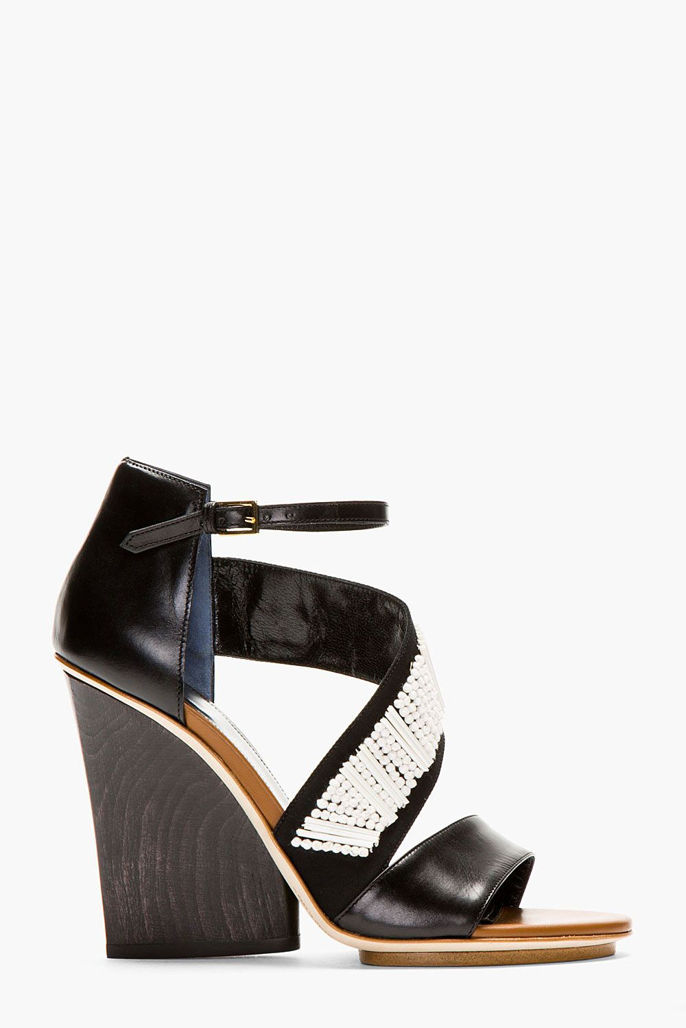Shoe Gaze Maiyet S Black Embroidered Wedges The Cut