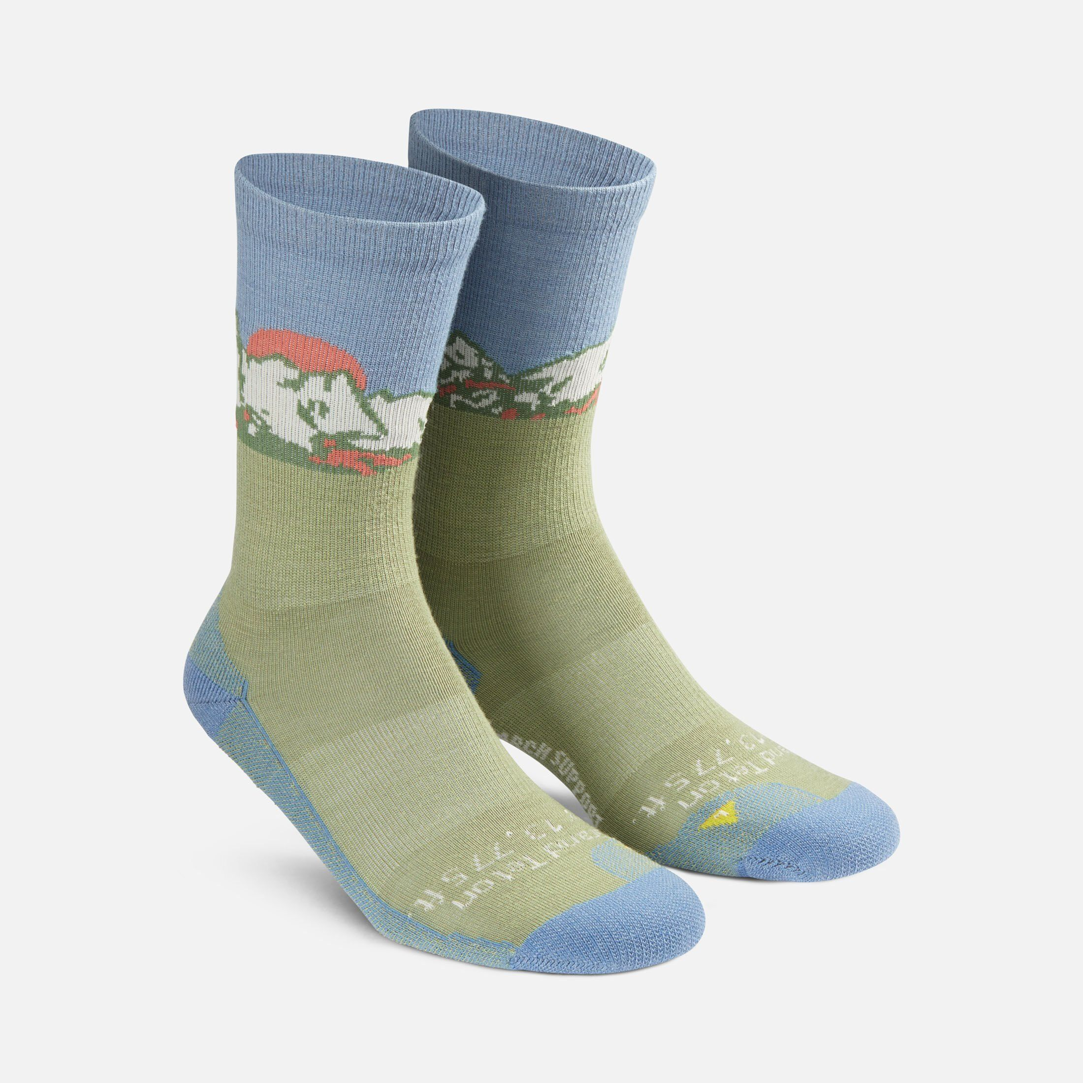 Tetons Crew Sock