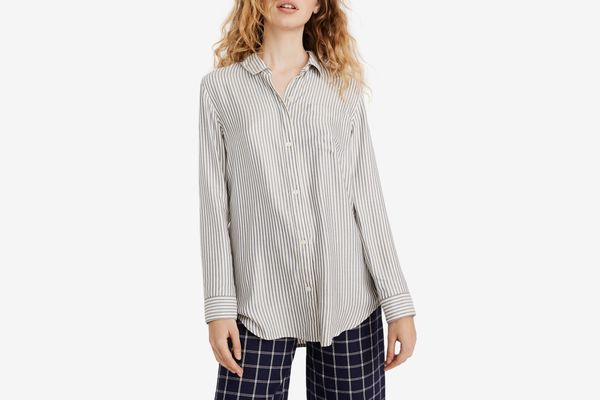 Madewell Classic Ex-Boyfriend Stripe Shirt
